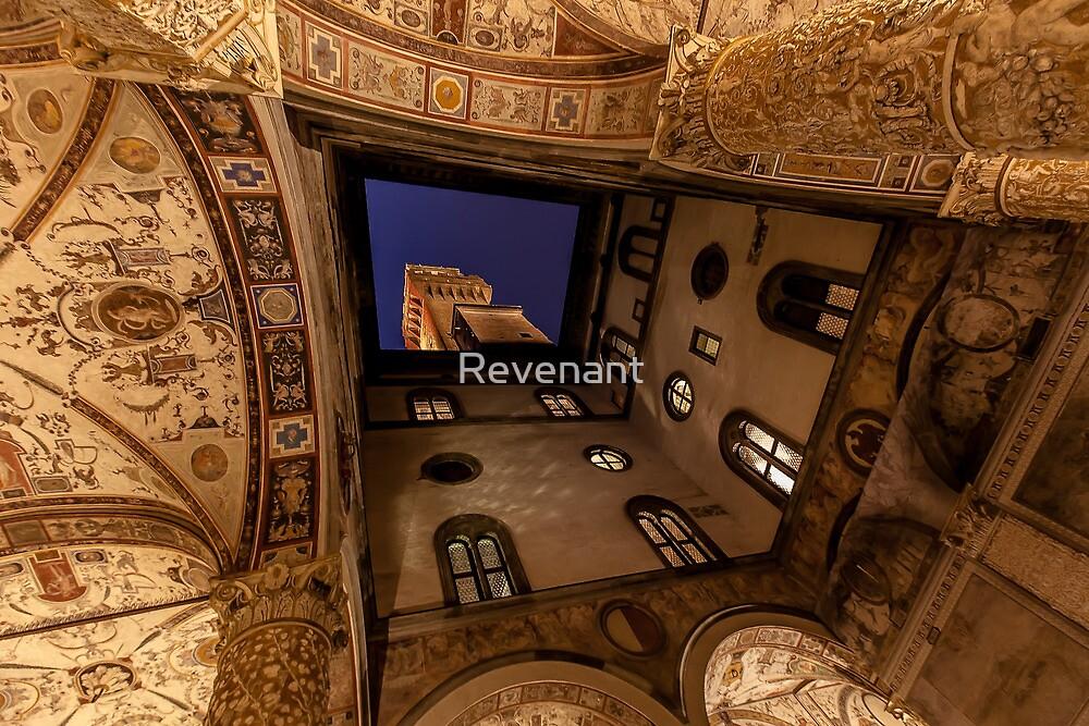 Florence, Palazzo Vecchio interior by Revenant
