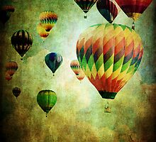 Flight of the Balloons  by Stephanie Frey