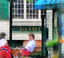 Rhode Island - Cafe Newport RI by Susan Savad