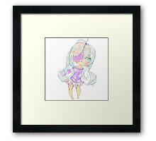 Pastel Chibi Framed Print