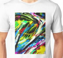 Abstract Painted Colour Wall Unisex T-Shirt