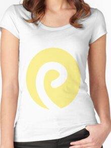 Politoed Swirl Women's Fitted Scoop T-Shirt