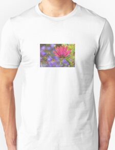Multicolored Floral Machine Dreams #2 T-Shirt