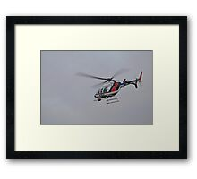 A Flight For Life Framed Print