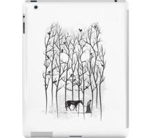 Snow and Ghost Amongst Crows iPad Case/Skin
