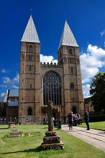 Southwell Minster-outside by jasminewang
