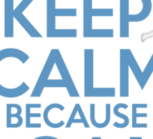 Keep Calm because I Can Fix It Sticker