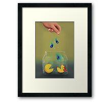 Pac Man Pets Framed Print