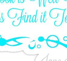 Good Book Blue Sticker