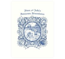 Awesome Adventures Art Print