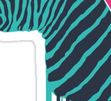Zebra's Not Dead II Sticker