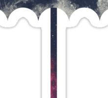 Space Umbrella Sticker