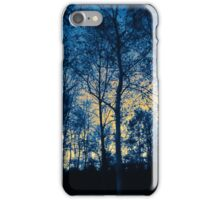 Winter Forest Blue  iPhone Case/Skin