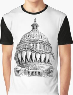 Angry Washington Graphic T-Shirt