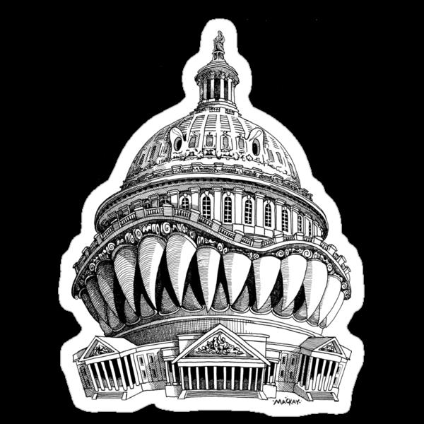 Angry Washington by MacKaycartoons