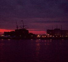 Red Sky in Mornin', Tall Ships a-Bornin' by Francis LaLonde