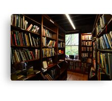 Booths Bookstore Canvas Print
