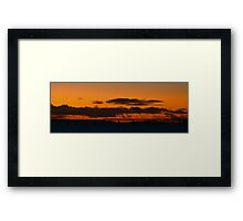 Tay Rail Bridge Framed Print