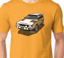 Audi Sport Quattro Ur-Quattro Rally Poster Unisex T-Shirt