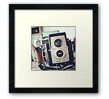 brownie starflex Framed Print