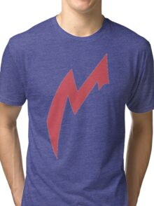 Zangoose Stripe Tri-blend T-Shirt