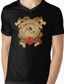 Tattoo Terrier Mens V-Neck T-Shirt