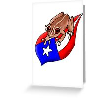 Coqui Greeting Card
