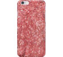 Ground Beef iPhone Case/Skin