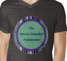 The Amara Campbell Foundation Logo Round Mens V-Neck T-Shirt