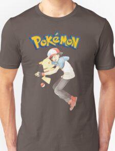 pokemon ash and pikachu  T-Shirt