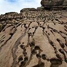 Beach Rocks - Wales by Samantha Higgs