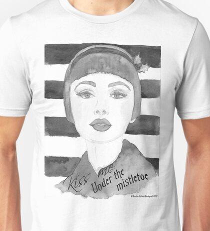 Black and white 30's girl Unisex T-Shirt