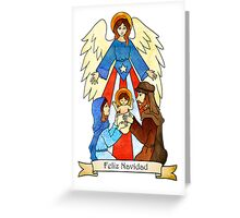 Navidad 2012 version 1 Greeting Card