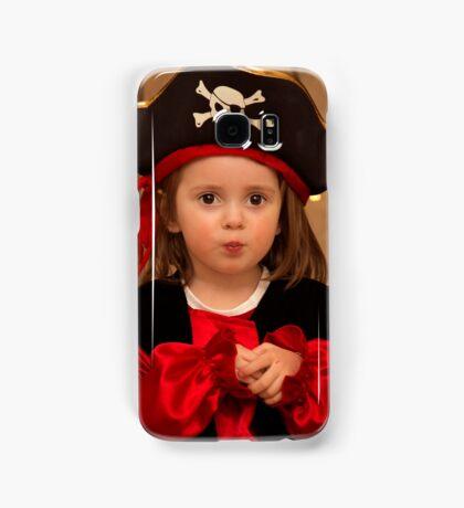 Pirate dressed cute girl Samsung Galaxy Case/Skin