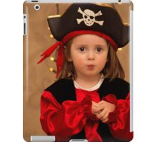 Pirate dressed cute girl iPad Case/Skin