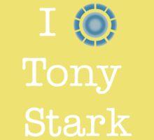 I (Heart) Tony Stark Kids Clothes