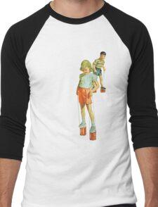 The Simple Life : Tin Can Stilts Men's Baseball ¾ T-Shirt