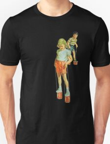 The Simple Life : Tin Can Stilts Unisex T-Shirt