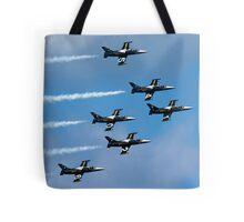 Breitling air display team L-39 Albatross Tote Bag