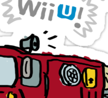 WiiU! WiiU! WiiU! (Basic) Sticker