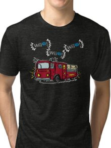 WiiU! WiiU! WiiU! (Deluxe) Tri-blend T-Shirt