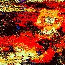 Red sun by Haydee  Yordan