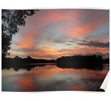 Pre-Sunrise Over Halpine Lake Poster