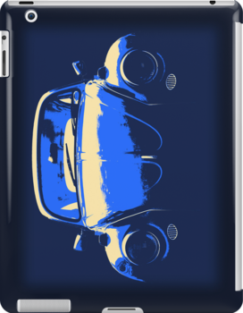 Blue Beetle iPad and Sticker version by Ra12
