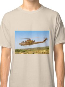 Israeli Air force (IAF) helicopter, Bell AH-1 Cobra in flight Classic T-Shirt