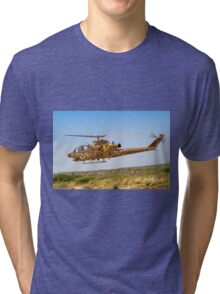 Israeli Air force (IAF) helicopter, Bell AH-1 Cobra in flight Tri-blend T-Shirt