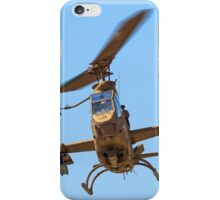 Israeli Air force (IAF) helicopter, Bell AH-1 Cobra in flight iPhone Case/Skin