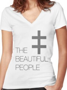 The Beautiful People Women's Fitted V-Neck T-Shirt