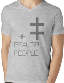 The Beautiful People Mens V-Neck T-Shirt