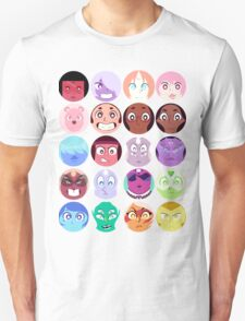 Steven Universe - (Updated) Cast Pattern! T-Shirt